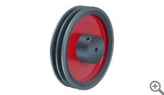 Plate Type Pulley